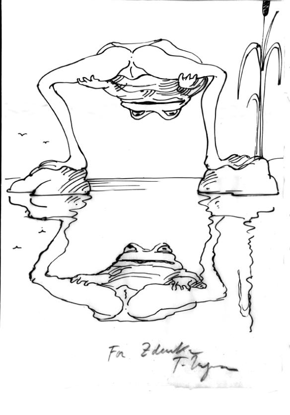 Tomi Ungerer Lascivious Frog #2
