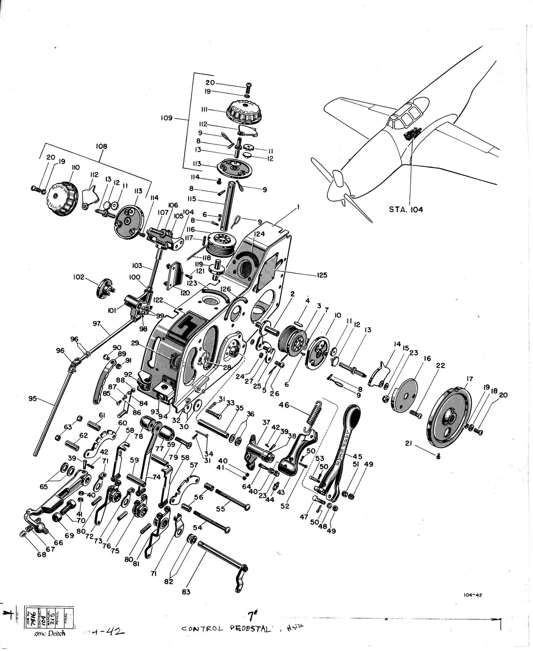 4  north american aircraft