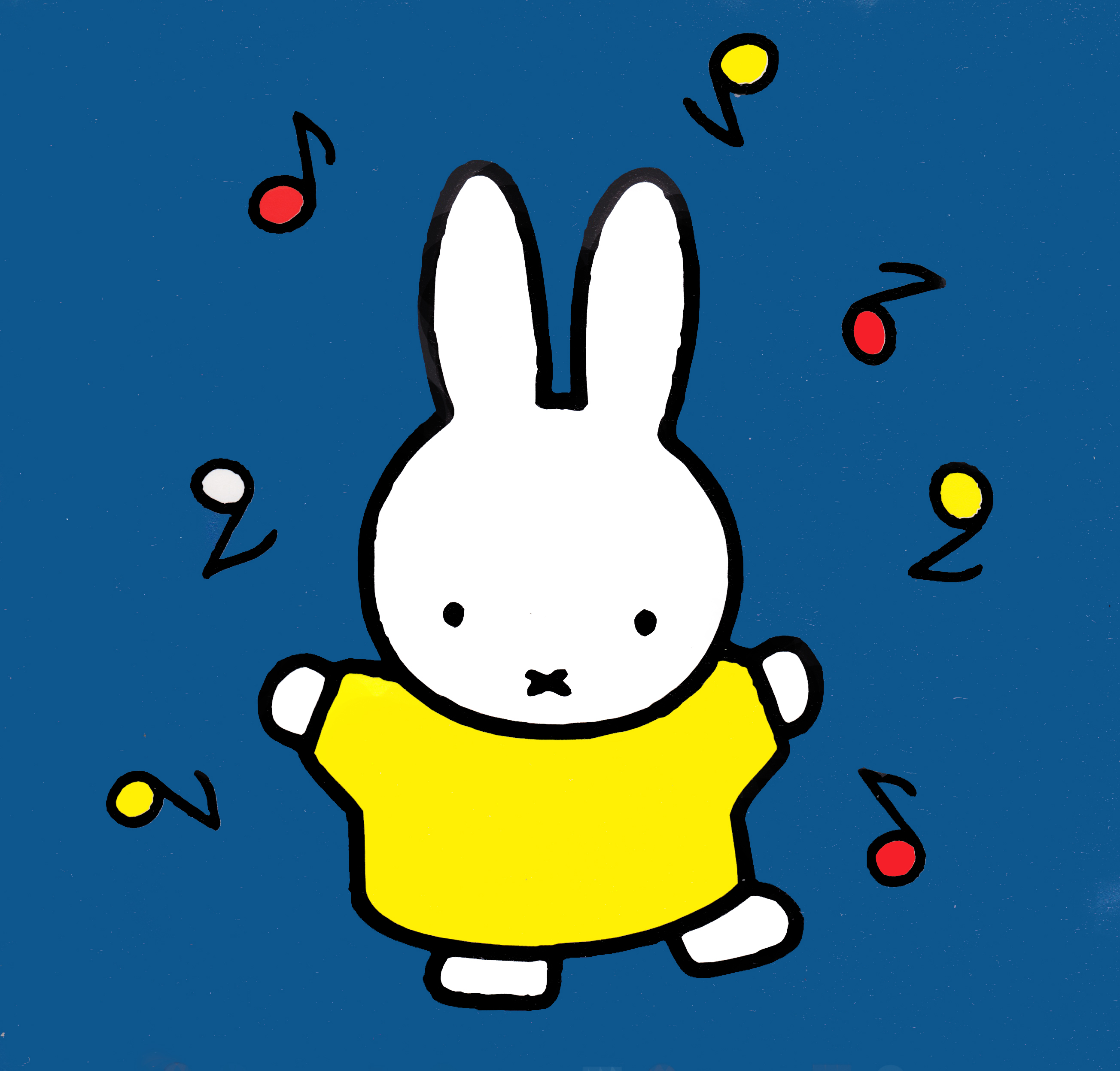 Miffy, as she appeared in the books and in ...