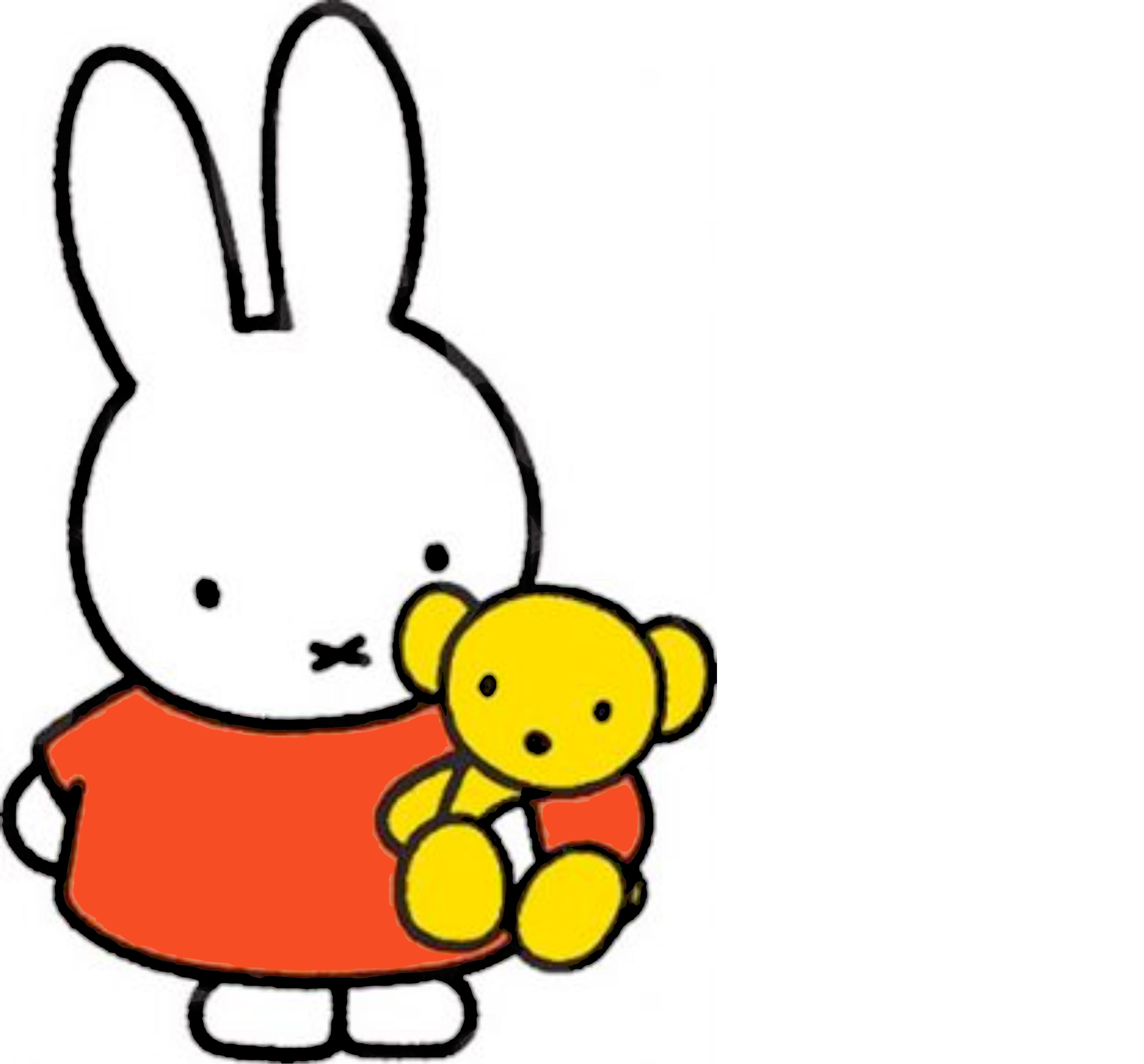 """Miffy, """"Nijntje"""" Dick's bunny-girl ..."""
