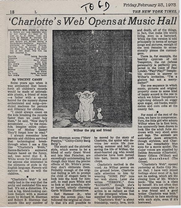 charlottes web essay example